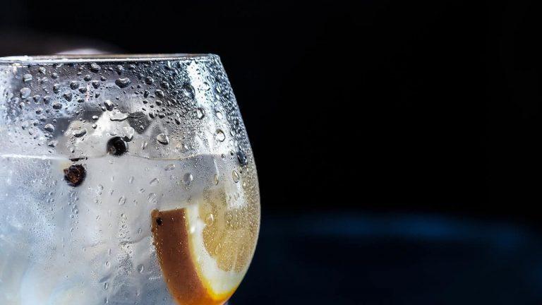 Eiskalter Drink