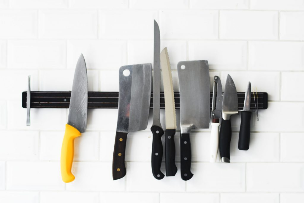 30 oder 60 cm Abmessung Magnet Messerhalter aus Kunststoff