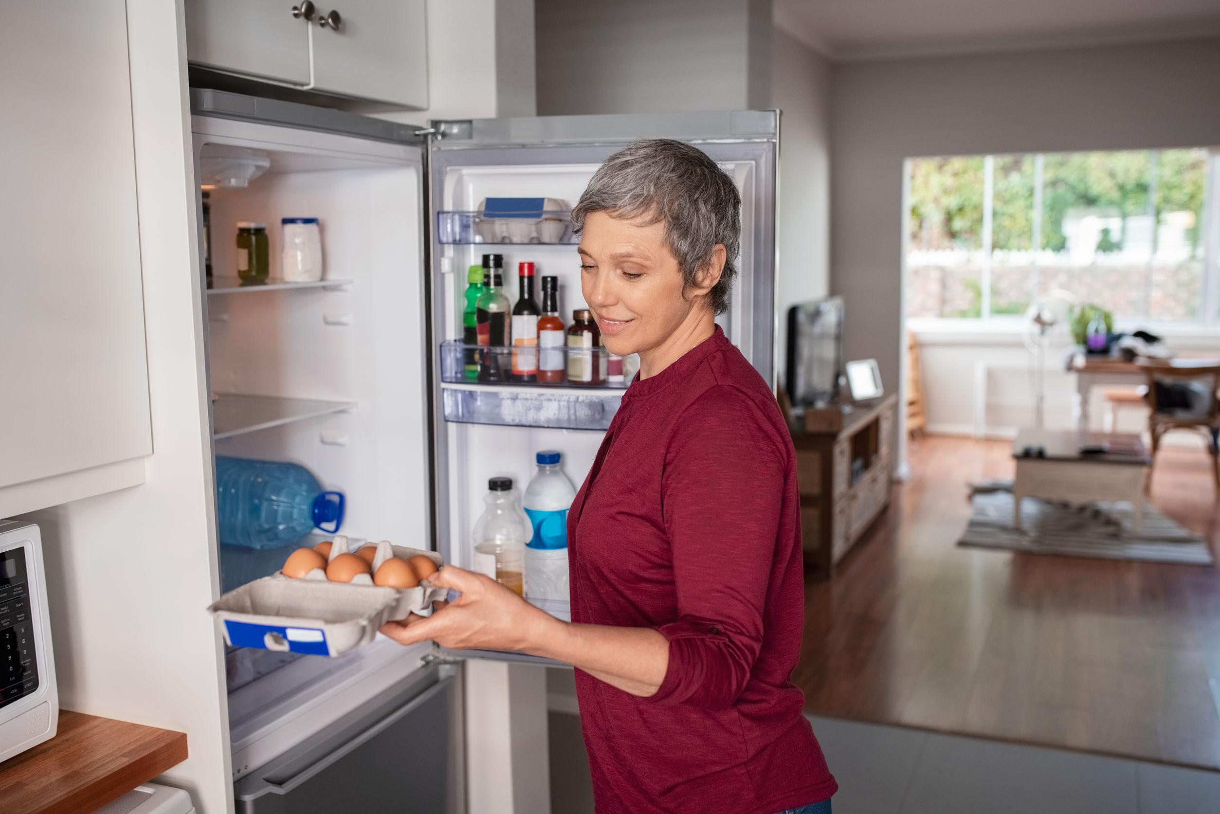 Kühlschrank mit Gefrierfach freistehend