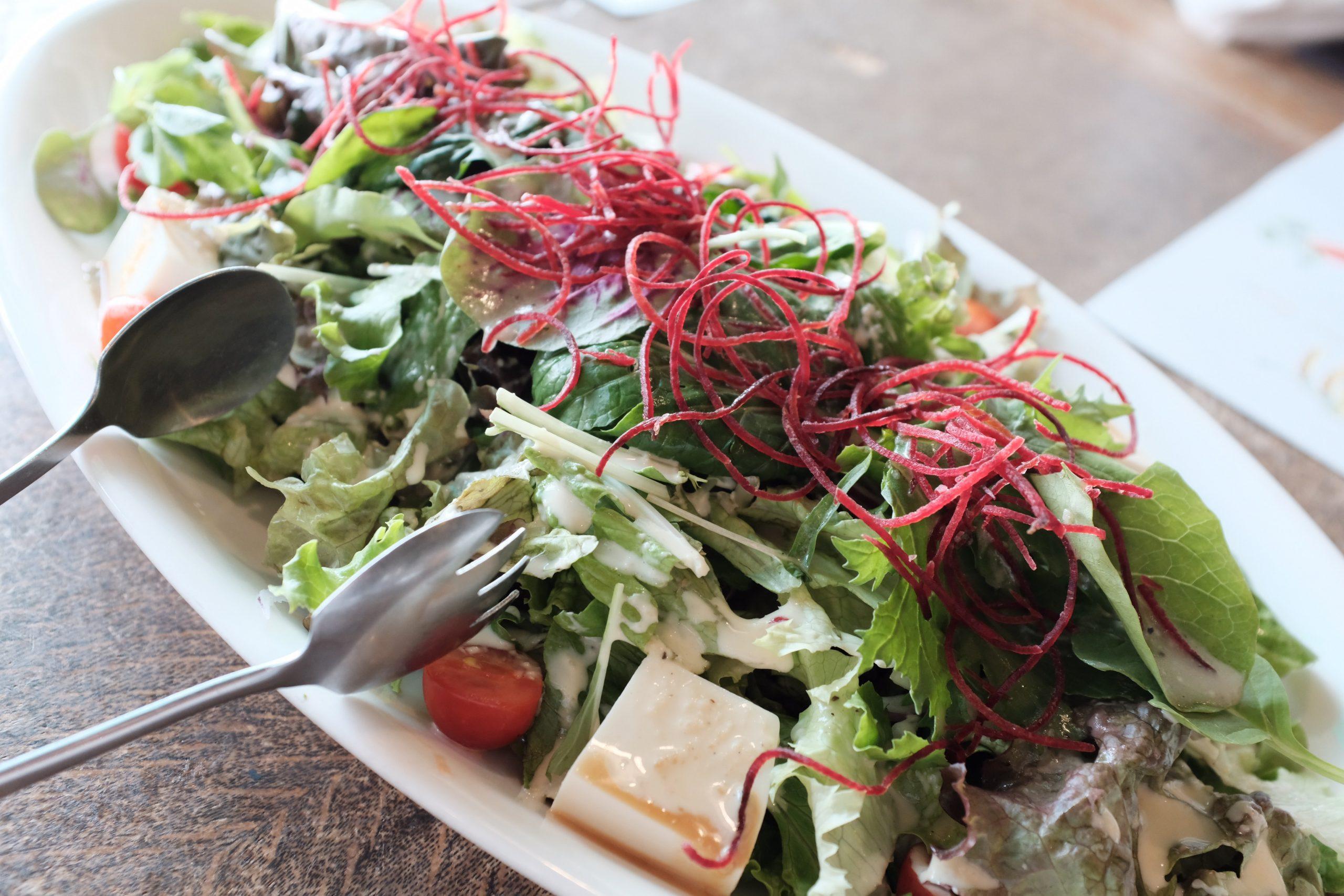Salatbesteck