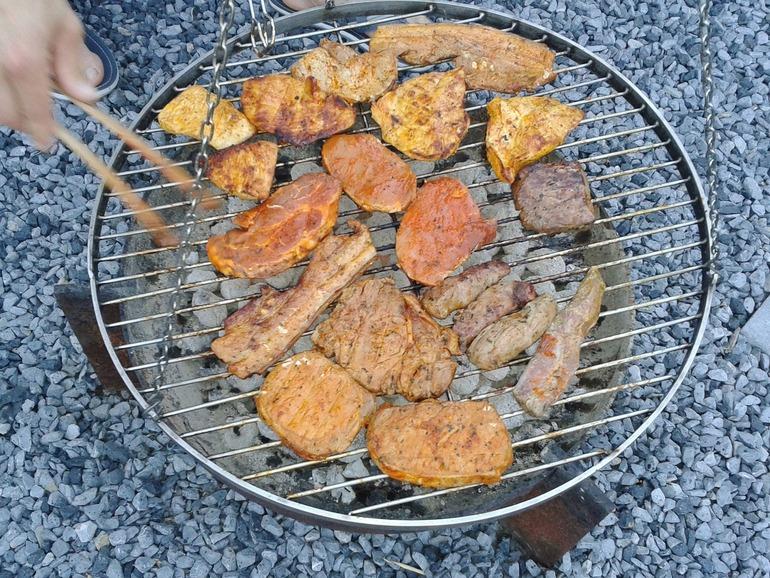 Rotating grills